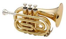 Gold Brass Bell Trumpets