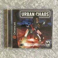 Urban Chaos SEGA Dreamcast Complete w/ Manual Fast Shipping! 2000 Eidos Rated M