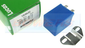 LUCAS SRB632 33452 24V 33RA 40A 4 PIN BLUE INTERMITTENT SPLIT CHARGE RELAY