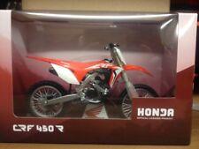 Gift boxed 2018 Honda CRF 450R diecast model motocross bike toy gift scale 1:12