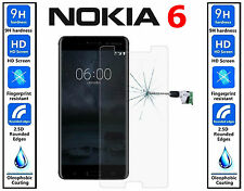 Genuine 100% TEMPERED GLASS Ultra HD Screen Protector Cover For Nokia 6