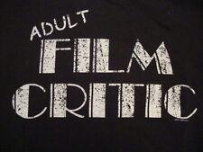 Adult Film Critic Funny Movie porno T Shirt M