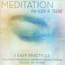 NEW Meditation for Kids & Teens (Audio CD)
