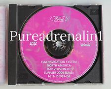08 2009 MERCURY SABLE FORD TAURUS X LIMITED NAVIGATION NAV 2012 DVD VERSION 11P