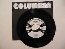 PEGGY KING W/ JIMMY CARROLL C'Mon Over / If You Don't Love Me COLUMBIA 45