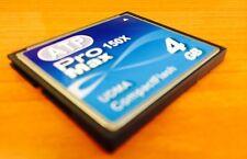 4GB Compact Flash Card ATP 150x Canon Nikon Kodak Sony Olympus Vivitar HP C