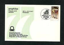 Rsa-nº 509 en tarjeta para amphilex en amsterdam 1977 (rsa)