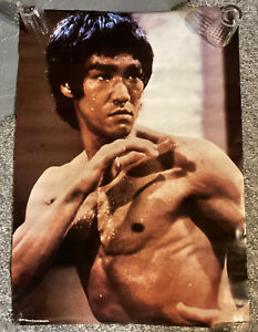 Vintage Bruce Lee Poster in excellent condition
