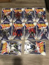 1996 Toy Biz X-men 2099 Complete Collection Of 10 Figures Factory Sealed