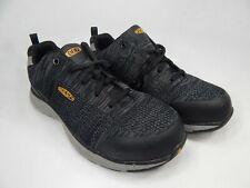 Keen Sparta Size US 10 M (D) EU 43 Men's Aluminum Toe Work Shoes Black 1021345