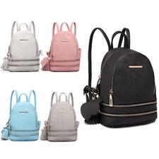 PU Leather Girl/Ladies Mini Backpack School/Travel Shoulder Bag Rucksack