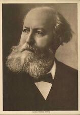 1913 Modern Opera Gravures Prints Verdi Puccini Strauss Gounod Massenet Article