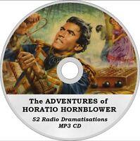 HORATIO HORNBLOWER 52 Radio DRAMATISATIONS AUDIO MP3 CD 19 hrs! audiobook, play