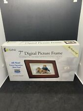 Giinii 7″ Digital Picture Frames BROWN GP7AWP New, Sealed