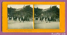 VUE STÉRÉO EXPO UNIVERSELLE 1900 PARIS : PAVILLON LES INDES NÉERLANDAISES-G98