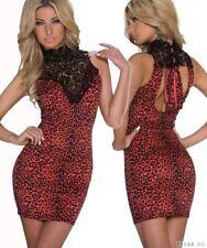 Crochet Polyester Dresses Backless