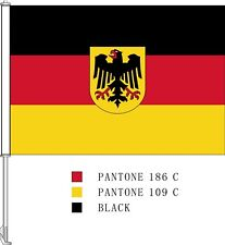 EURO CUP 2020 GERMANY CAR FLAG PREMIUM FLAG POLE SHIPS FROM CANADA