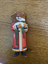 Mary Engelbreit Christmas Ornament Lion Holding Lamb Peace On Earth
