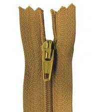 40cm Antique Brown Dress Zip