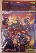 Marvel Road To Avengers EndGame ~ Panini Sticker Collection ~ Starter Pack