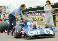 Francois Cevert Elf Tyrell 006 British Grand Prix 1973 Photograph 7