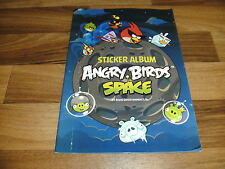 Sammelbilder/sticker álbum: angry birds space