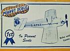 "12"" DRUINE TURBULENT Peanut Scale Balsa Model Airplane Kit Peck Polymers PP-3"