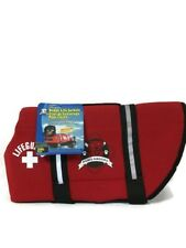 Dog Lifejacket Large Red Neoprene Life Vest By Paws Aboard R1500 Nylon