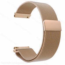 18mm Magnetic Milanese Loop Watch Band Wrist Strap For Fossil Q Venture Gen 3 4