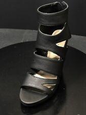 Michael Antonio Allura Black Wedges Women's Shoes Size US 5.5 M