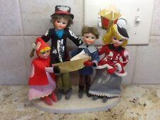 Vintage Brite Star 4 pcs, Choir Group Christmas Decoration made in Japan