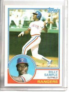 1983 TOPPS BILLY SAMPLE (NM/MT OR BETTER) //