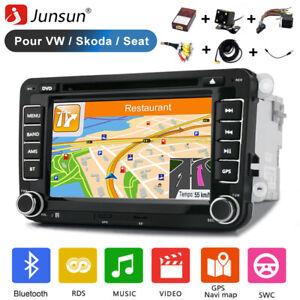JUNSUN AUTORADIO Für VW GOLF 6 POLO PASSAT TOURAN TIGUAN DVD GPS NAVI BLUETOOTH
