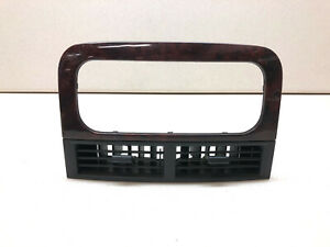 99-04 Jeep Grand Cherokee Center Dash Air Vent Trim Vents Factory Woodgrain