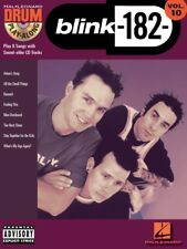 blink-182 Drum Play-Along Sheet Music Book and CD NEW 000699834