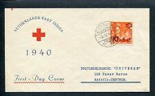 Ned.Indie, FDC Voorloper 2-12-1940 RODE KRUIS, met adres