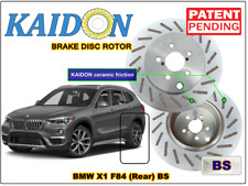 "BMW X1 F84 disc rotor KAIDON (Rear) type ""BS"" / ""RS"" spec"
