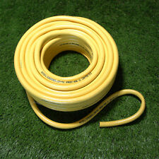 13mm x 10 Metres Yellow Garden Hose Pipe 10M Reinforced Roll Coil Water Hosepipe