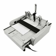 Zy 1 Manual A3 Paper Booklet Binding And Folding Machine Booklet Stapler 220v