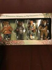 New ListingBoyds Bears Wizard of Oz resin ornaments Nib