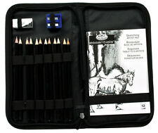 SKETCHING SET PENCILS & DRAWING PAD & KEEP & CARRY ZIP UP STORAGE CASE RSET-KCSS