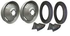 Front Rim Amp Tire Set Ferguson To20 To30 To35 Te20 Tea20 40 Tractor