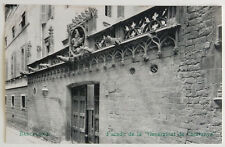 "Esperanto – ak 5-a UK barcelona 1909 – facado ""generalitat de Catalunya"""