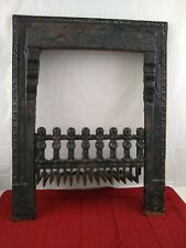 Favorite Antique Cast Iron Fireplace Surround Victorian Era Ornate with Grate