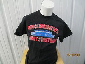 VINTAGE BRUCE SPRINSTEEN & E STREET BAND TRIBUTE TO GIANT STADIUM 2009 XL SHIRT