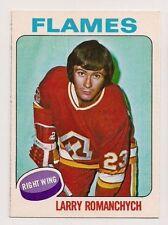 1975-76 OPC #153 LARRY ROMANCHYCH ATLANTA FLAMES O-PEE-CHEE
