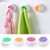 4x Wash Cloth Clips Holder Clip Dishclout Storage Rack Bath Room Storage Towel