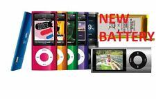 Apple iPod Nano 5th Generation 8GB & 16gb   - All Colors New Battery