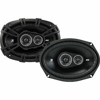 "Kicker DS Series 6x9"" 3-Way Car Speakers - 43DSC69304"