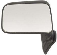 Manual Black Door Mount Mirror - Driver Side Left - Fits OE# 87940-89135